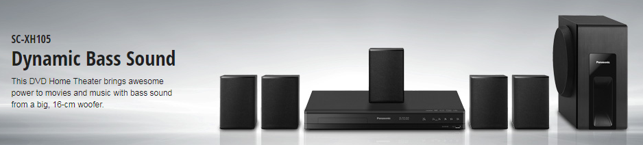 DVD Home Theater SC-XH105