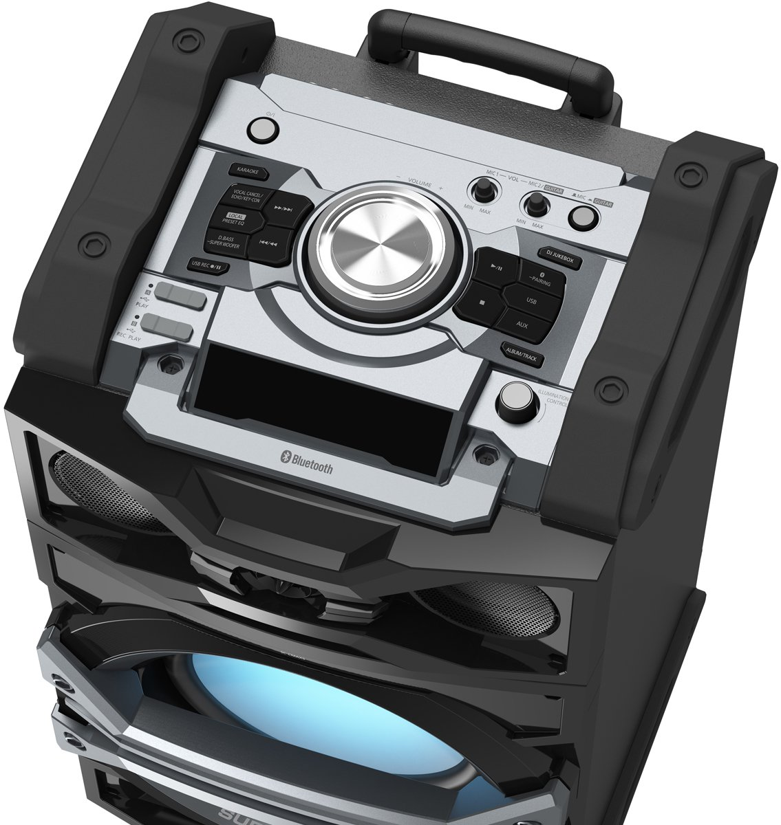 Portable Mini Stereo System SC-CMAX5GS-K