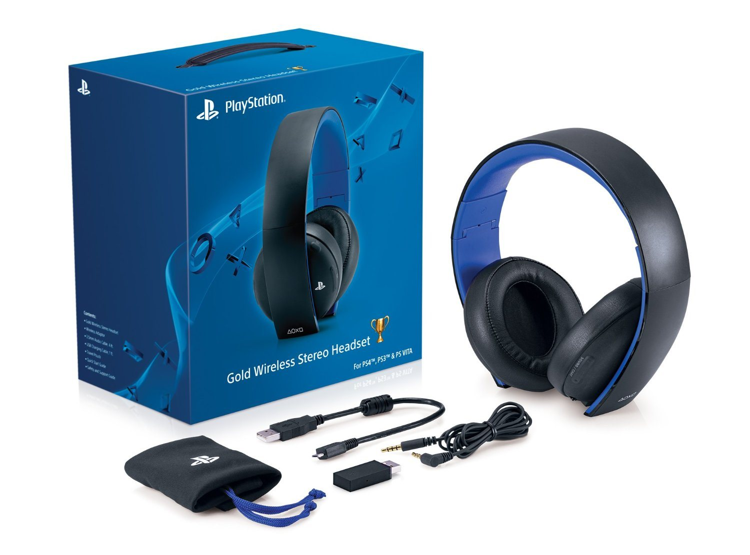 Wireless Headphones for PS4