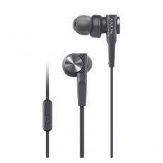 Sony Extra Bass Sports In-Ear Headphones Black (MDR-XB55AP)