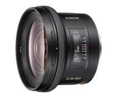 SAL-20F28 Wide Angle Prime Lens