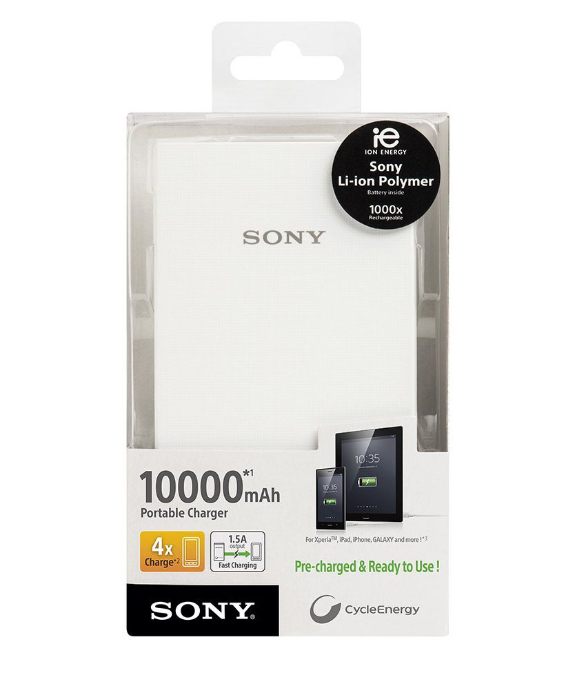 CP-V10A (10000mAh) Portable USB Charger