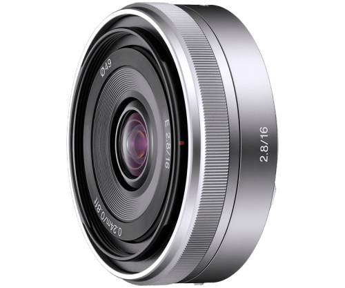 E 16mm F2.8 E-mount Prime Lens